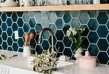 HOME | Kitchen / A collection of inspiration, remodel, organization, products, and DIY ideas for your kitchen. Kitchen, dining, eating, food, cooking, stove, appliances, counter tops, kitchen inspiration, kitchen ideas, DIY Kitchen, kitchen tips and tricks, pantry, serving food, kitchen decor, kitchen essentials, kitchen hacks, backsplash, sink, stove