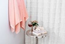 HOME | Bathroom / A collection of inspiration, remodel, organization, products, and DIY ideas for your bathroom. Bathroom decor, home DIY, DIY bathroom, bathroom renovation, improvement, tub, hot tub, sink, tile, bathroom floor, bathroom decor, home decor, shelving, storage, bathrooms storage, towels, mirror, toilet, etc.