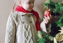 Вязание. Детские модели. / Вязаная детская одежда