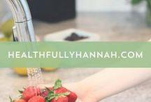 HealthfullyHannah.com / clean eating, natural beauty, nontoxic living, nutrition, health tips, natural living, natural health, organic skincare, holistic health, real food, functional medicine
