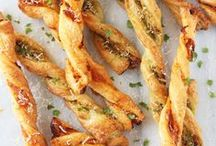 RECIPES | Sides & Appetizers / Recipes for delicious sides and appetizers! Starters, sides, appetizers, hor d'oeuvres, snacks, bread, dinner, meals, recipes, apertif, taste, coleslaw, macaroni salad, etc.