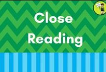 Close Reading / Resources that relate to the skill of Close Reading. Students need to look at a text closely, and in depth, to really begin to comprehend the often-complex meaning. These resources help with that!