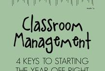 Classroom Management / Resources relating to managing behavior/behaviour in the classroom!
