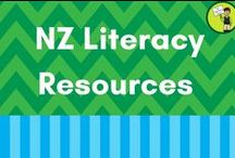 NZ Literacy Resources / This is the place for great New Zealand literacy (reading, writing, spelling) resources for the home and classroom: Year 1-6.