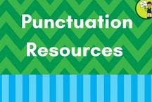 Punctuation Resources / All about ELA Punctuation in Elementary Schools