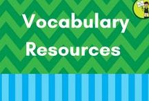 Vocabulary Resources / Resources to help with the teaching of Vocabulary.