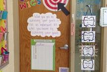 Student Goals / Various ideas to display and encourage student goal settings.