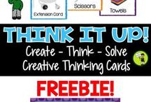 Creative Thinking Resources / Activities, lessons, educational material and resources to promote creative thinking in your classroom or home.