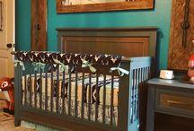 Woodland Themed Baby Nursery