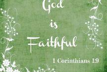 Faith / What a Friend we have in Jesus! / by Debbie Beukelman