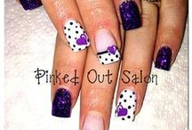 Nail Designs to try / When I finally get my sunroom set up as a nail studio.... / by Renee Boccelli-Burns