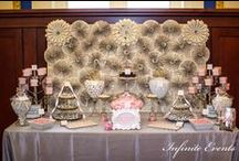 Infinite Events Candy Buffets and Sweet Stations / Candy Buffets, Candy Stations, Candy Bar, Wedding Favors, Candy Displays, Dessert Displays, Desser Bars / by Infinite Events