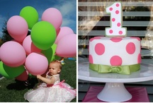 Pink & Green Birthday / Ideas for Zoe's 1st Birthday. / by Shannon Nichole