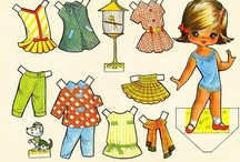 Paper doll / Paper soldiers