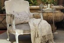 Chairs & sofas / by Virpi Janhunen