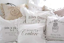 Pillows, cushions  / by Virpi Janhunen