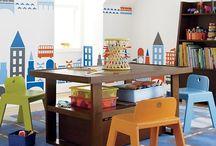 Playroom and Big boy rooms