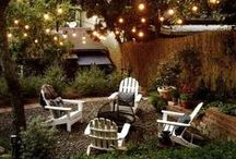 Patio, Deck and Outdoor Living Spaces / by Megan Manac