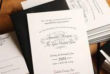 A Very Letterpress Wedding