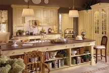Kitchens / The heart of the home / by Cathy Guynes