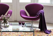 Color Pick : Purple Passion / For more color & styling ideas : http://pinterest.com/studiomdesigns/