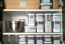 organize: kitchen / by Krystina Speegle