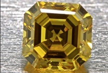 Yellow Diamonds / Yellow diamonds are the most popular of all fancy color diamonds. They are readily available in a variety of shapes and are often featured in designer jewelry collections. In the last few years, collections from retailers like Tiffany & Co. have popularized the hue, and large yellow diamonds have made headlines for prices garnered at auction. Learn More about Yellow Diamonds at http://www.pricescope.com/wiki/fancy-color-diamonds/yellow-diamonds