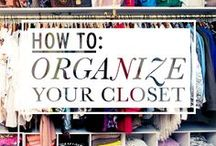 organize: clothing & jewels / by Krystina Speegle