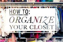 organize: clothing & jewels / by Krystina Speegle
