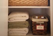 organize: hallway & linens / by Krystina Speegle
