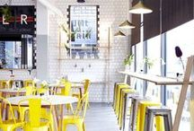 Cafe & Restaurant Love / Enjoy this collection of cool cafe & restaurant ideas that I love.