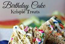 Rice Krispie Treat Recipes / Recipes with Rice Krispies