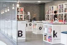 ⌂ BOOKOWSKI /_\ bookstore by KASIA ORWAT home design / • BOOKOWSKI - Księgarnia w Zamku • DESIGN by KASIA ORWAT home design • bookshop in POZNAN, POLAND • based on #EXPEDIT #IKEA about 70 elements #concrete tops