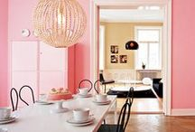 Color Pick : Pretty in Pink / All things pink for styling your home & work space.