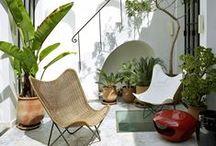 Outdoor Spaces { Porch , Terrace , Balcony }