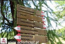 Wanderregion Reschenpass / Wanderregion Dreiländereck - Nauders am Reschenpass - http://www.adlerhotel.at/region-reschenpass.html