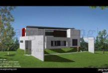 Desain Rumah Minimalis / Desain rumah tinggal minimalis. / by Argi Nuring G.
