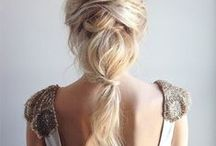 H A I R S T Y L E S / Gorgeous hairstyles for medium to long hair. / by Jamie Delaine Watson | Blogger