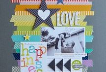 Scrapbook Pages We Love / Projects we found to share with you!