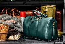 Weekend Getaway / Escape in style with our J.W. Hulme duffle bag / by J.W. Hulme
