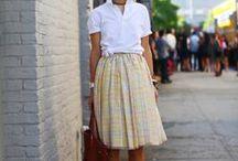 midi feminine dresses + skirts