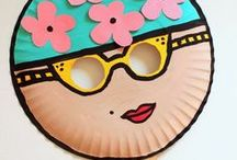 Kids Crafts We Love / We say start them crafting young!