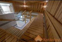 Yhteisö sauna, Public saunas / Uimahallin sauna, Sun Sauna Swing Clean -laudejärjestelmä, community sauna, Saunan lauteet, Julkiset saunat, Julkinen sauna, Yleinen sauna