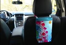 GreenGoose Car Bags 2 / Etsy listings