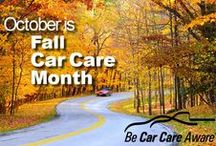 Car Care Council Spreads the Word / We are pleased to provide selected tips and advice for you! Consumers will find information and advice regarding topics such as car maintenance, safe driving and the effects different seasonal weather has on your car! / by Car Care Council