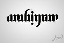 Type / Cool examples of typographic design.