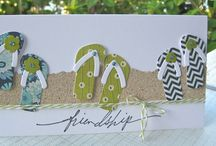 Card & tag ideas / Card and tag ideas.  Products not always known, but like the ideas. / by Ashlyn D'Aoust