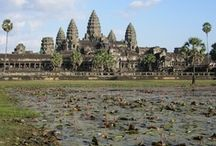 Cambodia / Cambodia is home of the famous temples of Angkor Wat which can be found at the city of Siem Reap. The capital of Cambodia is Phnom Penh.