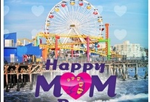 Mother's Day at Pacific Park 2013 / The First 1,000 Mother's Received a Free Ferris Wheel Ride & Family Portrait, while Pacific Wheel donned a beautiful Mother's Day Lighting Display