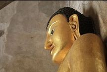 Buddha Statues in South East Asia